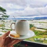 Chênh Dalat Café – nơi thưởng ngoạn trọn vẻ đẹp thơ mộng của Đà Lạt ngày xuân