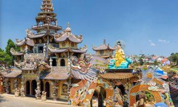 Chùa Ve Chai – điểm check-in khó bỏ lỡ khi đến Đà Lạt dịp Tết