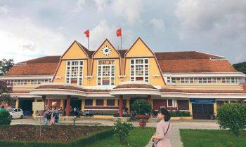 Tháng 6 tới Đà Lạt check-in ngay nhà ga đẹp nhất Việt Nam
